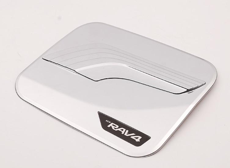 Накладка на топливный баг (серебряный) Toyota RAV4 2019-