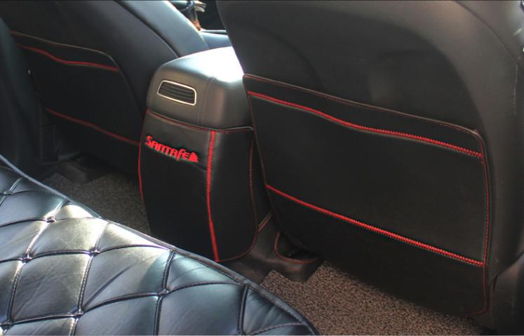 Защита на низ сидений (надись Hyundai) для Санта Фе 4 (Hyundai Santa Fe 2018 - 2019) защита на низ сидений надись hyundai chn для санта фе 4 hyundai santa fe 2018 2019