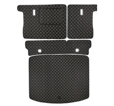 Коврики в багажник 4 элемента (полиуретан, черные) Honda CRV 2020-