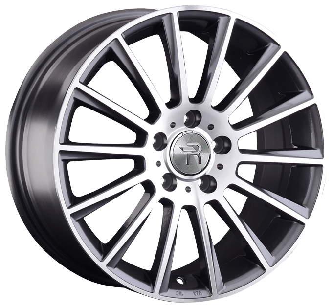 Диск колесный Replay B202 7.5xR18 5x112 ET51 ЦО66.6 серый глянцевый с полированной лицевой частью 081204-040023005