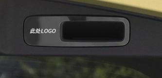 Фото - Накладка на ручку багажника (с логотипом) для Honda C-RV 2017- накладка на порог багажника для honda crv 2017