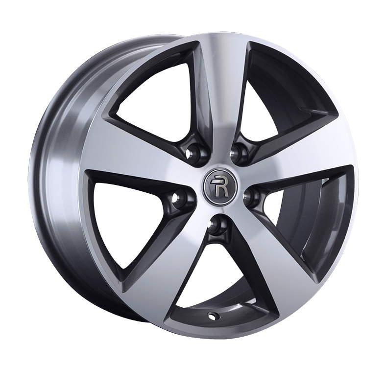 Диск колесный Replay VV182 8xR17 5x120 ET49 ЦО65,1 серый глянцевый с полированной лицевой частью 046359-070029006