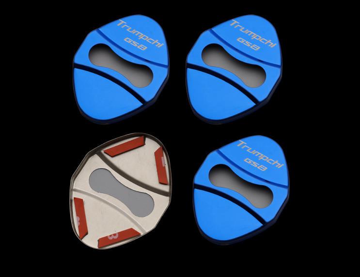 Накладки на петли дверных замков для GAC Trumpchi GS8 2018, 2019, 2020 накладки на внешние дверные ручки разные цвета chn для gac trumpchi gs8 2018 2019 2020
