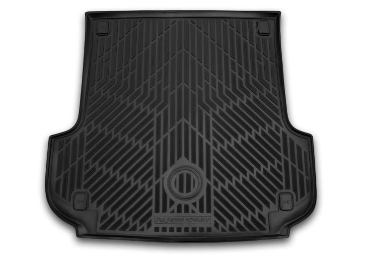 Коврик багажника Mitsubishi резина черный MZ353014 Pajero Sport (3G) 2015-