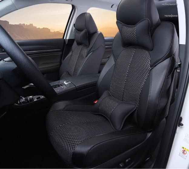 Чехлы на сидения (с подушками) для GAC Trumpchi GS5 2020-