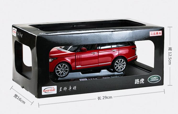Модель Range Rover в масштабе 1:24 модель land rover discovery в масштабе 1 18