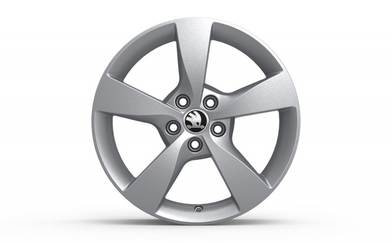 Диск колесный R16 Dione 5JA071496B8Z8 для Skoda Rapid 2020 - колесный диск r16 52910f2200 для hyundai elantra 2016