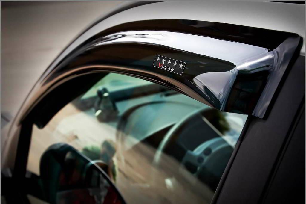 Дефлекторы на окна для Peugeot 408 2012 -