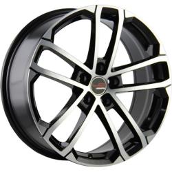 Диск колесный LegeArtis Реплика Concept-SK512 6.5xR16 5x112 ET50 ЦО57.1 черный глянцевый с полированной лицевой частью 9133655