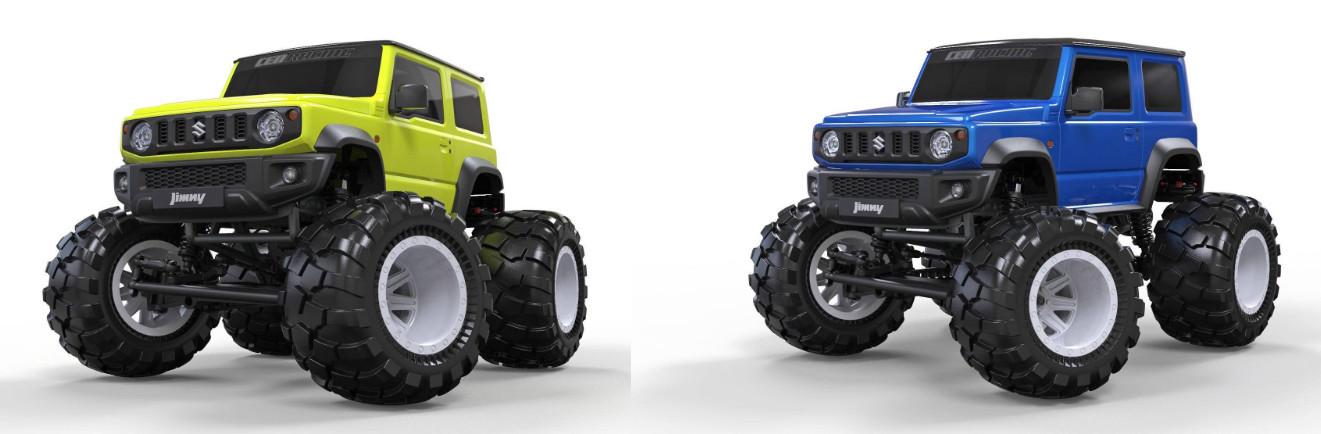 Радиоуправляемая модель Monster Truck Suzuki Jimny в масштабе 1:12 CEN Racing CHN
