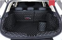 3D коврики в багажник из экокожи Geely Emgrand GS 2019-