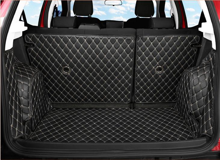 3D коврики (обшивка) в багажник Ford Ecosport 2018 -
