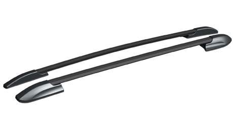 Рейлинги (черный) APS 0244-02 Toyota Highlander 2013-