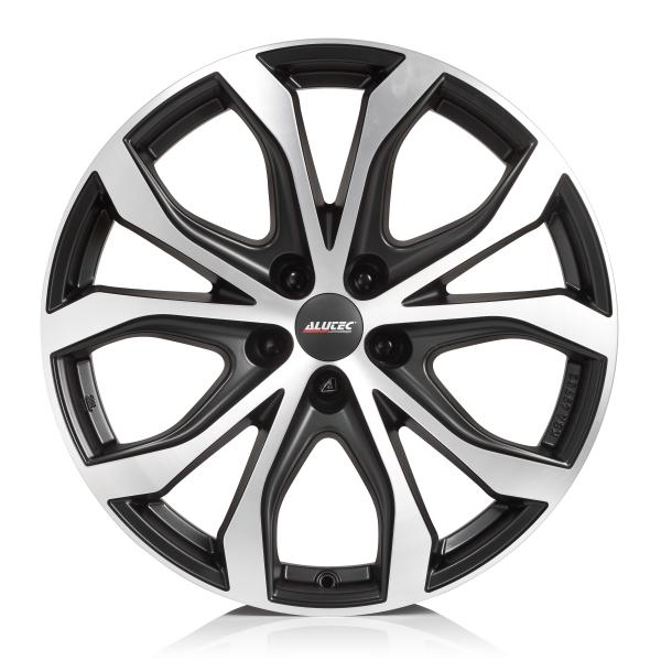 Диск колесный Alutec W10X 8,5xR19 5x112 ET28 ЦО66,5 черный с полированной лицевой частью W10X-85928PO13-5 alutec w10x 8 5x19 5x112 d66 5 et28 polar silver