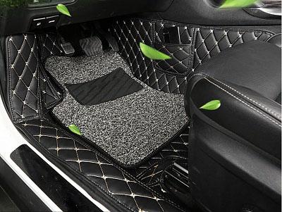3D обшивка в салон (клетка) без ковриков BNX160894 Renault Koleos 2017 -