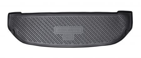 Коврик багажного отсека, 7 мест, резиновый, короткий для Санта Фе 4 (Hyundai Santa Fe) 2018 - 2019 недорого
