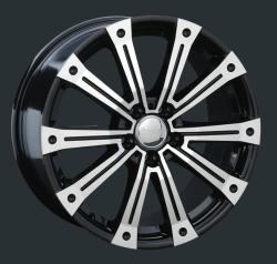 Диск колесный LS Replay MR80 8.5xR18 5x112 ET38 ЦО66.6 черный глянцевый с полированной лицевой частью S013487