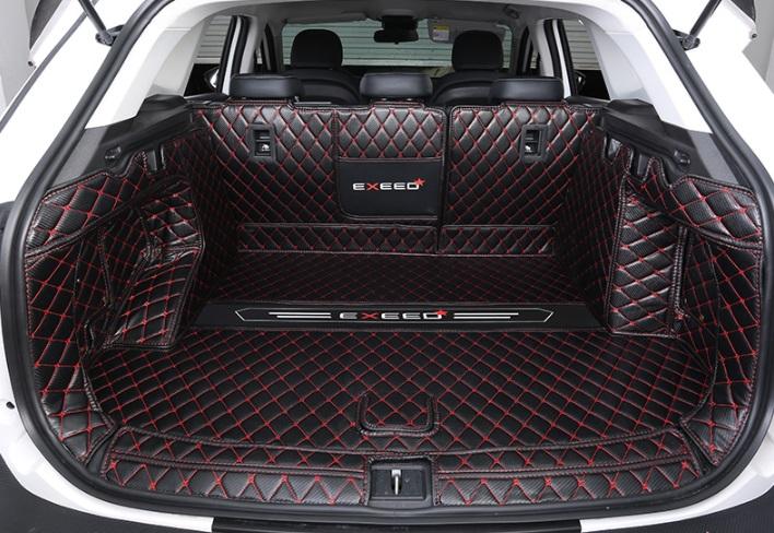 Коврики в багажник 6 элементов (красный) CHERYEXEED TXL 2020-