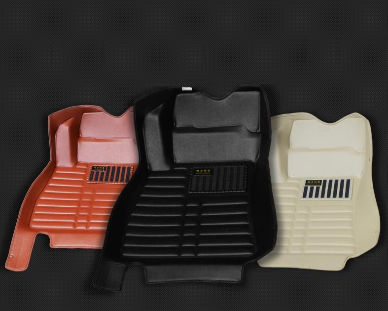 Коврики в салон 3D кожаные для Nissan New Tiida C13R 2015 -