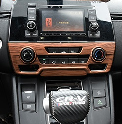 Накладка на регулятор кондиционера для Honda C-RV 2016-