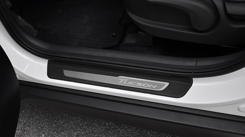Накладки на пороги Original parts для Hyundai Tucson (2015- по н.в. ) накладки на пороги внешние и внутренние для hyundai tucson 2015 по н в