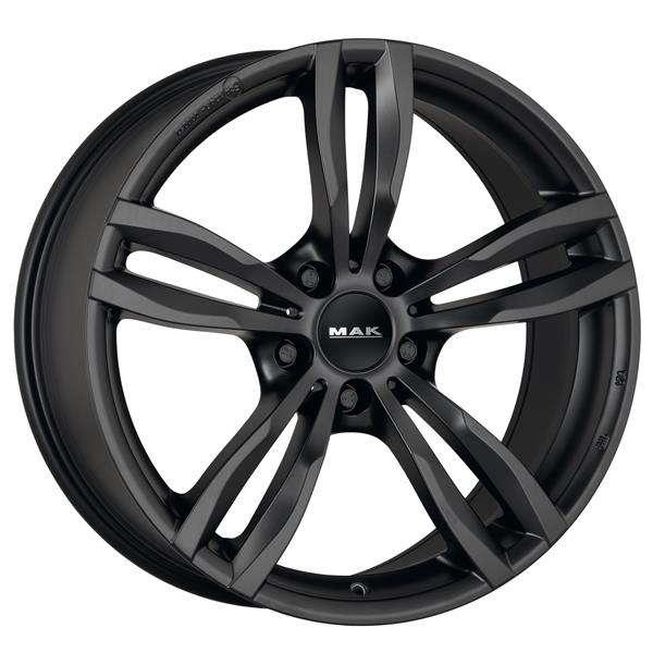 Диск колесный MAK Luft 8,5xR19 5x112 ET25 ЦО66,6 черный матовый F8590LFMB25WSX