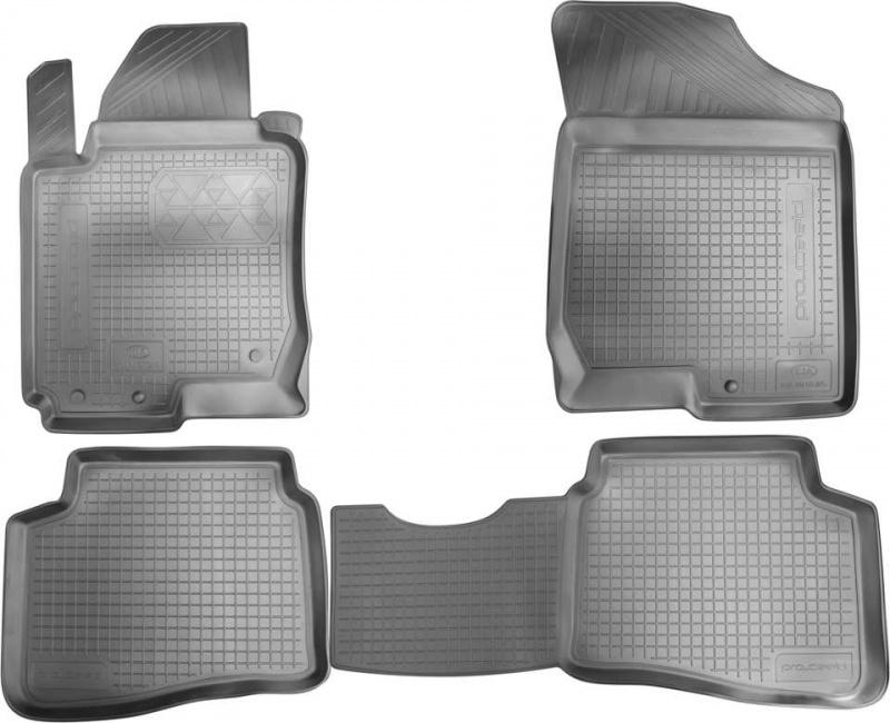 Коврики в салон Hyundai/Kia резина черный R8130L1100 Hyundai Sonata (8G) DN8 2020-