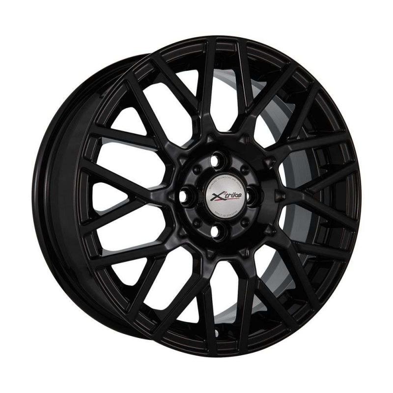 Диск колесный X'trike X-124 6.5xR16 4x98 ЕТ35 ЦО58.5 черный глянцевый 68171 диск колесный x trike x 124 6 5xr16 4x98 ет35 цо58 5 белый 74535