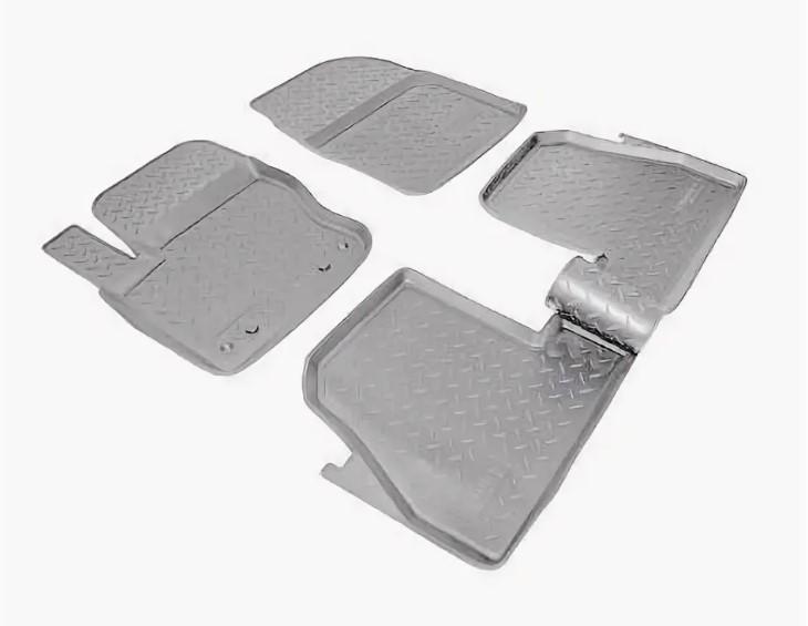 Коврики салона (полиуретан), серые HB Norplast NPL-Po-22-18Grey для Ford Focus III 2011 - 2015 недорого