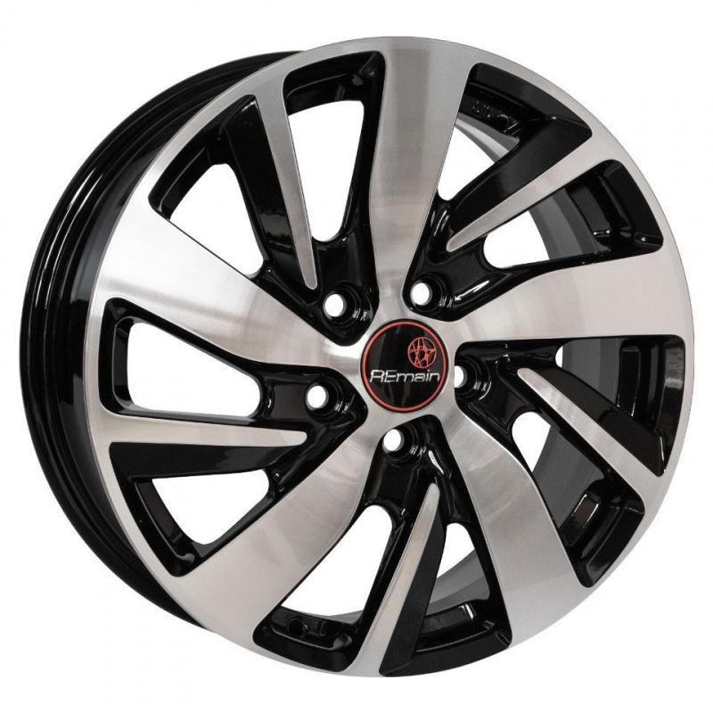 Диск колесный Remain R166 6.5xR16 5x112 ЕТ50 ЦО57.1 алмаз черный 16604AR