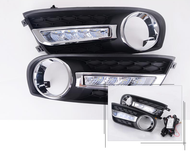 Дневные ходовые огни для Nissan New Tiida C13R 2015 -