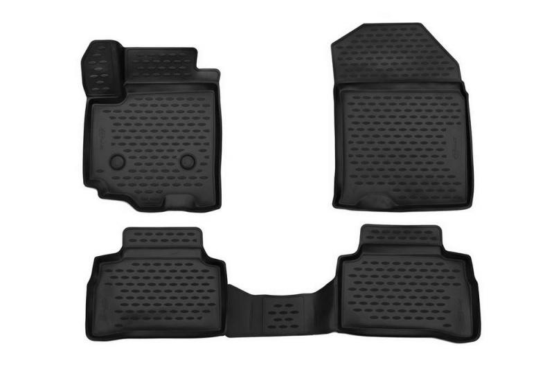 Коврики 3D в салон (черный полиуретан) Format FORMAT.CARSZK00017 Suzuki Vitara 2015-