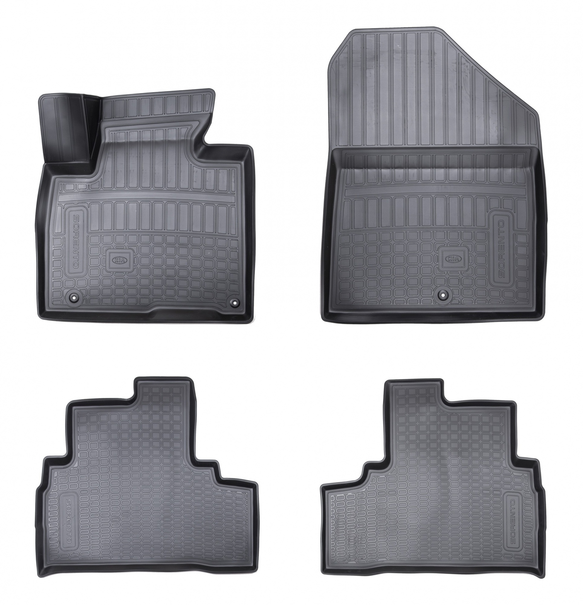 Коврики в салон Hyundai/KIA черный R8130C5100 KIA Sorento (3G) Prime 2014- коврики в салон hyundai kia велюр черный a2143ade00st kia ceed 3g 2018