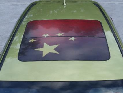 Пленка для люка (китайский флаг) Honda CRV 2020-