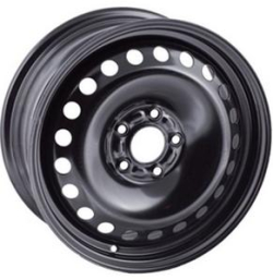Диск колесный Trebl X40028 5.5xR14 5x100 ET40 ЦО57.1 черный 9144843