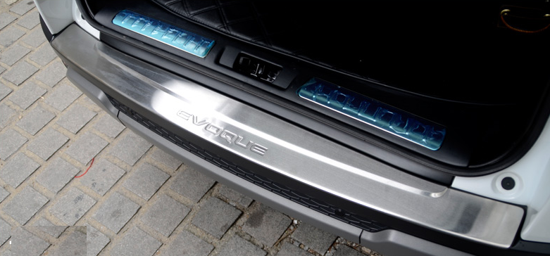 Накладка на бампер защитная на задний бампер CHN для Land Rover Range Rover Evoque 2015 -