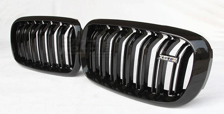 Решётка радиатора, ноздри BMW E70, Е71