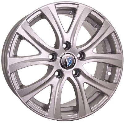 Диск колесный Venti 1609 6,5xR16 5x114,3 ET50 ЦО66,1 серебристый rd832410