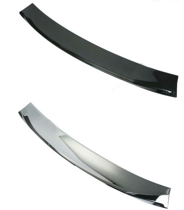 Спойлер задний (черный карбон, хром) для Toyota C-HR 2018 - светоотражатель в задний бампер chn для toyota c hr 2018
