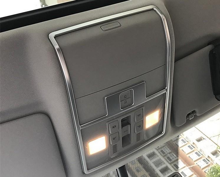 Окантовка верхней центральной подсветки салона, ABS Silver OEM-Tuning 37509 для SKODA KODIAQ (2017 - по н. в.) элемент салона ling jie scirocco oem