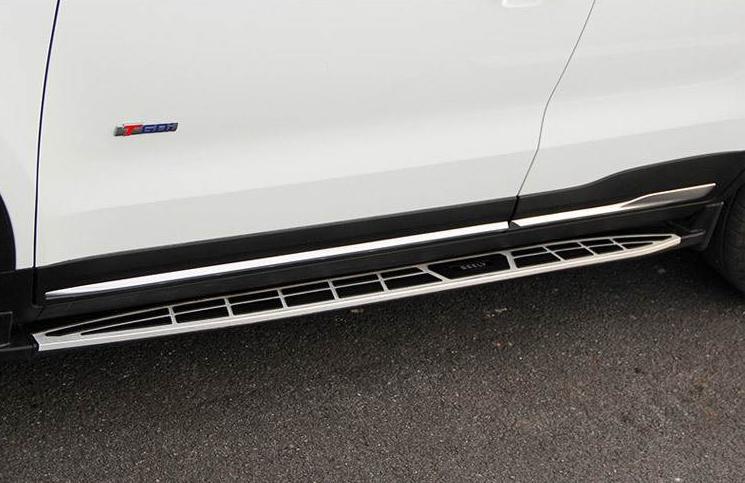 Пороги, боковые подножки для Geely Emgrand GS ( 2019, 2020, 2021 ) боковые подножки пороги тип 3 chn для geely emgrand x7 2019 2020