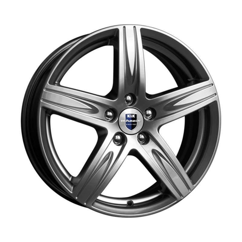 Диск колесный K&K Андорра 6.5xR18 5x120 ET49 ЦО72.6 серый тёмный глянцевый r72339
