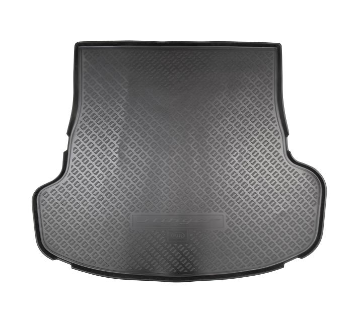 накладки на пороги с led подсветкой и надписью stinger kst dsax 01 для kia stinger 2018 Коврик багажника Hyundai/KIA резина черный R8570J5100 KIA Stinger (1G) 2017-