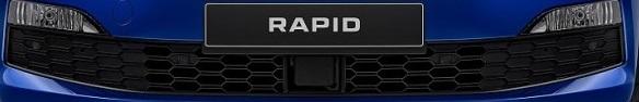 Защитная сетка радиатора (нижняя) 5JH053671AN для Skoda Rapid 2020 -