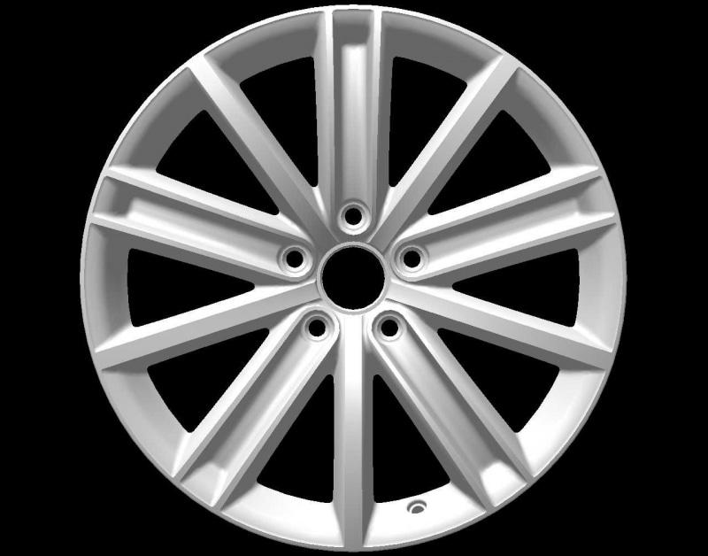 Диск колесный VAG Kulmbach 7xR17 5x112 ET45 ЦО57 черный 2GA601025JDM9 диск колесный vag mayfield 7xr17 5x112 et45 цо57 темно серебристый 2ga601025nfzz