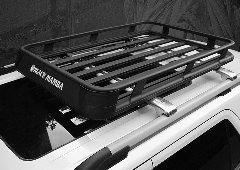 Корзина багажная на крышу Black Mamba CHN для Toyota RAV4 new (Тойота РАВ4) 2019 +
