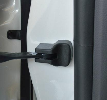 декоративные накладки замки колпачки xhn mitsubishi outlander 2012 Защитные колпачки на ограничитель двери для Mitsubishi Outlander 2012 - 2018