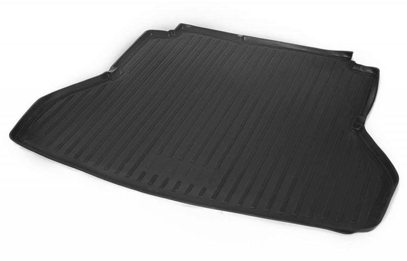 Коврики в багажник Rival полиуретан черный 12301002 Hyundai Elantra (6G) AD 2015-, рест. 2018-