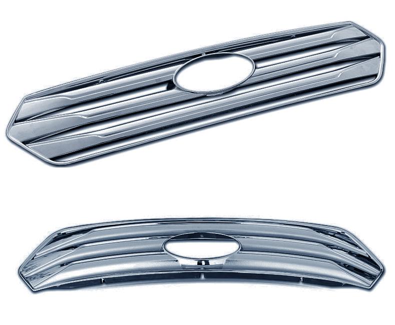 Хромированная накладка на радиаторную решетку для Hyundai Creta 2016 -