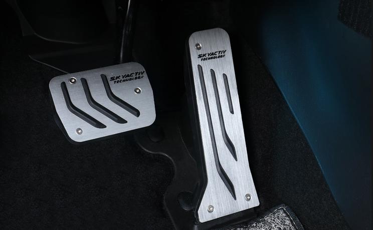 Накладки на педали Sports Style для Mazda CX-5 2017 -